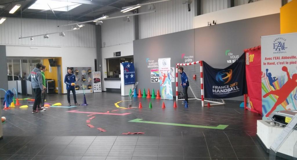 Ce week end animation handball eal chez renault abbeville eal abbeville handball - Animation portes ouvertes ...